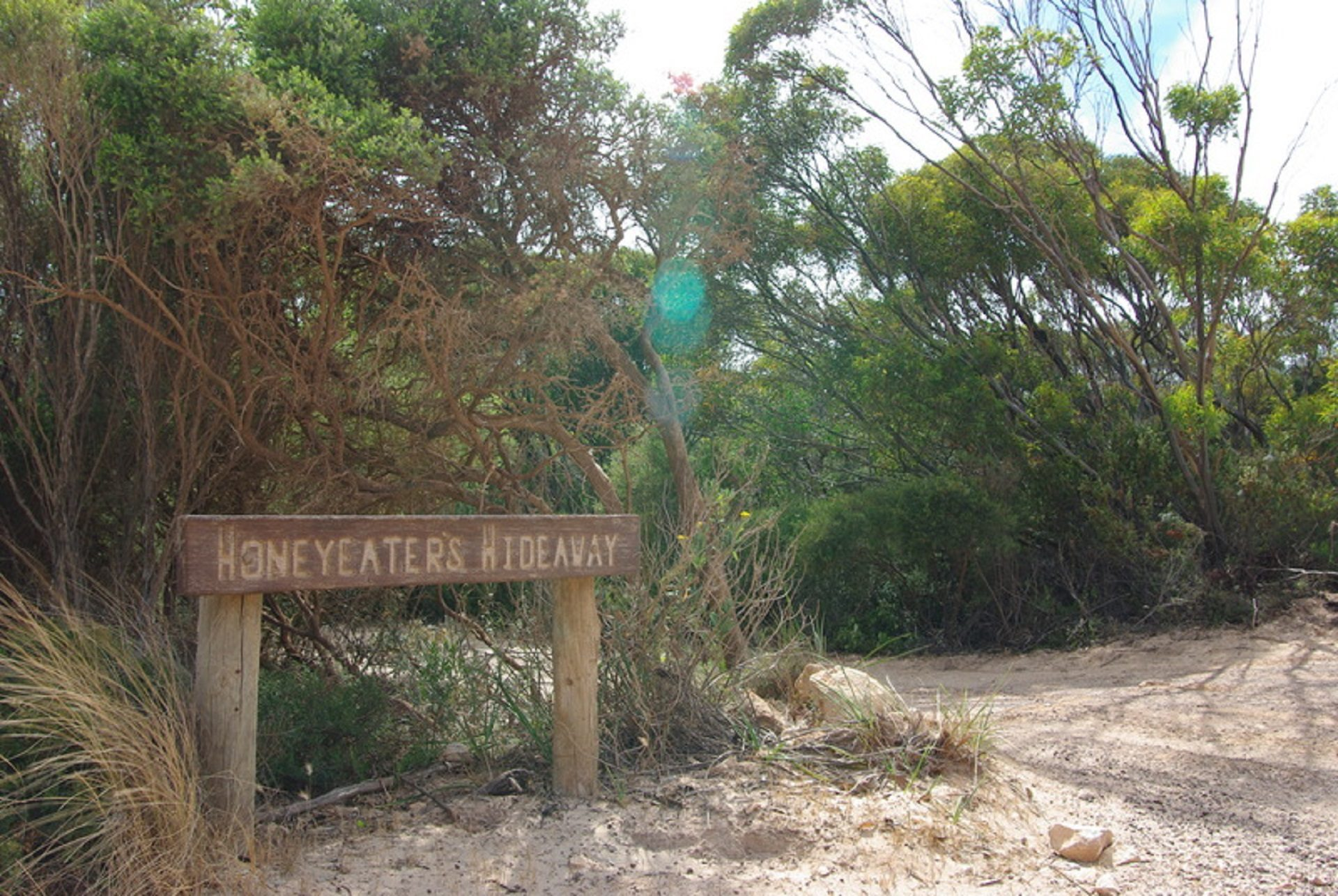Honeyeaters Hideaway in Vivonne Bay